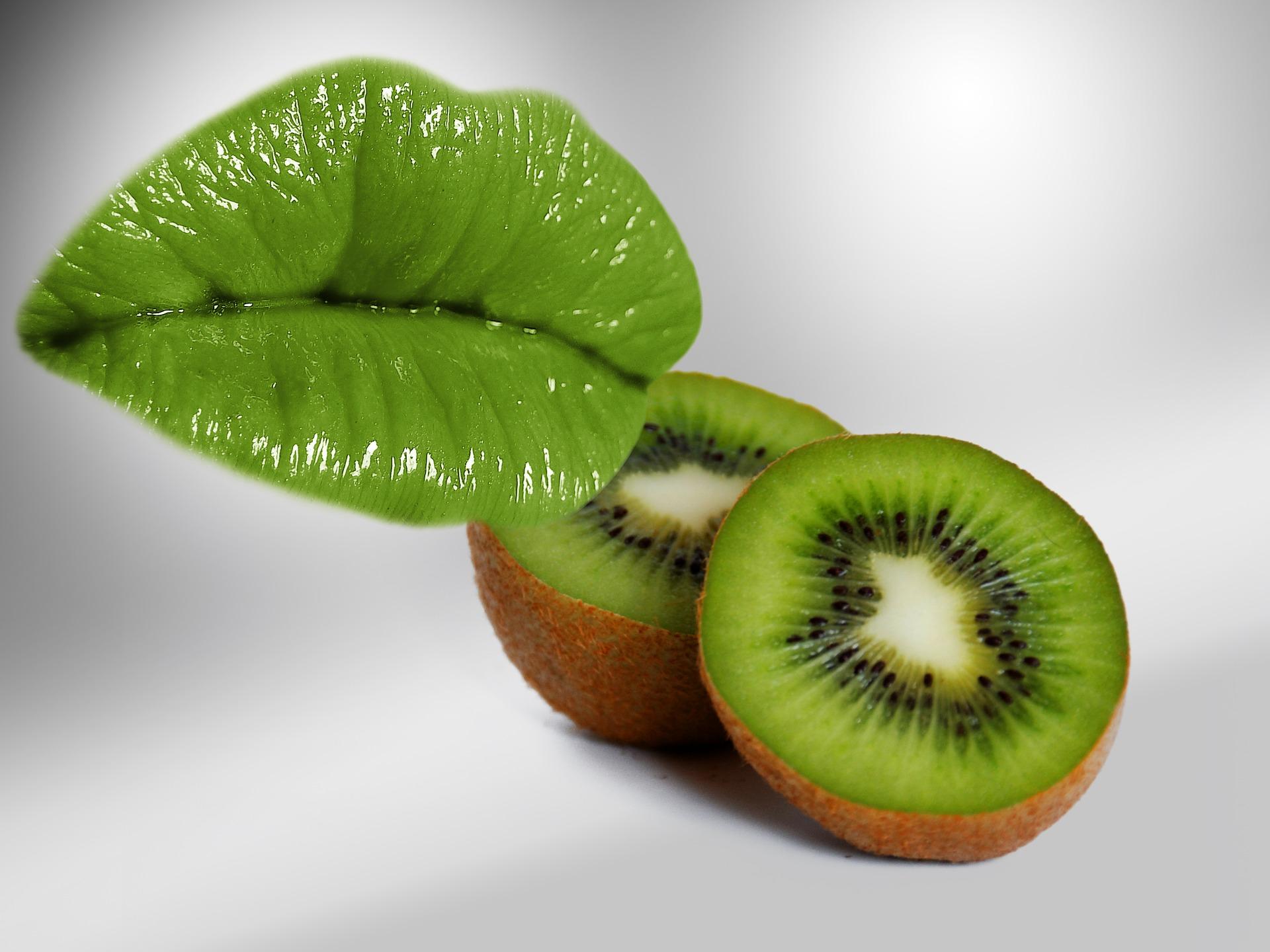 Labios Kiwi